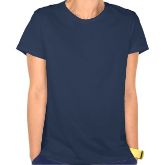 Headphones with Loud Music in Navy Blue v1 T-Shirt
