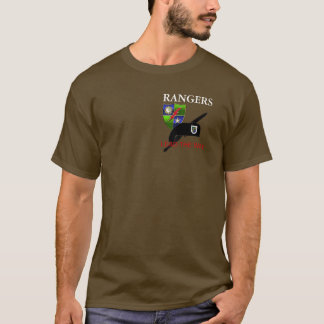 HEADQUARTERS 75TH RANGER REGT T-SHIRT
