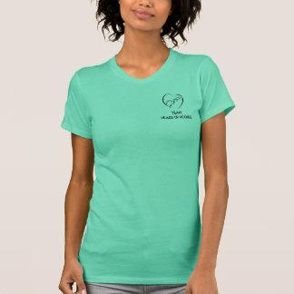 Heads Up Hounds Team Shirt Womens
