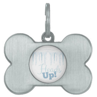 Heads Up Pet Tag