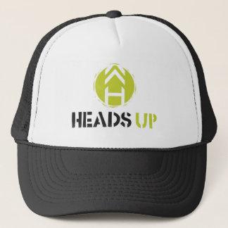 Heads Up skate lid Trucker Hat