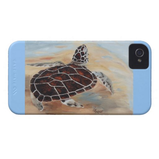 Head's Up Turtle BlackBerry Bold Case