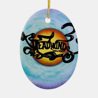 Headwinds Band Lives on! Ceramic Oval Decoration