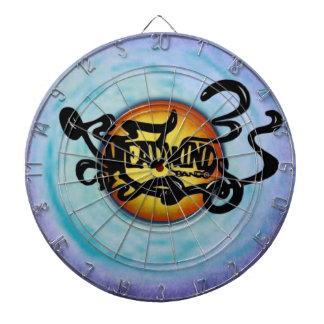 Headwinds Band Lives on Dart Board