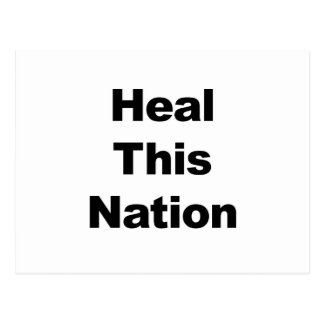Heal This Nation Postcard