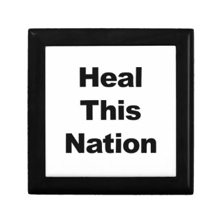Heal This Nation Small Square Gift Box