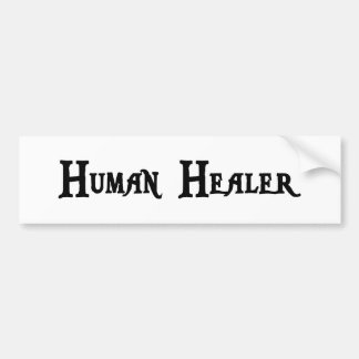 Healer Bumper Sticker