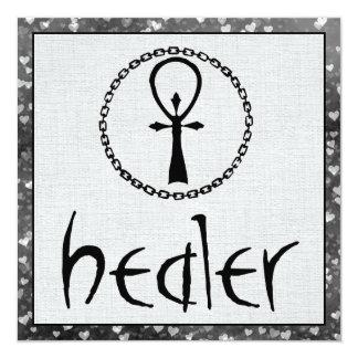 Healer 13 Cm X 13 Cm Square Invitation Card