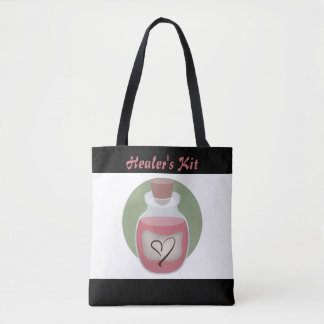 Healer's Kit Nerdy RPG Tote Bag