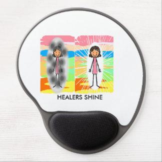 """HEALERS SHINE"" Gel Mousepad"