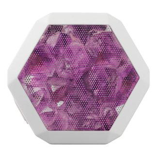 Healing Amethyst Gemstone White Boombot Rex Bluetooth Speaker