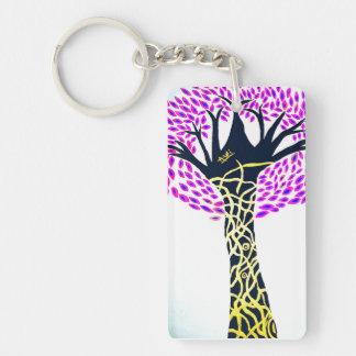 Healing Art Tree Design By Ashi Sharma Key Ring