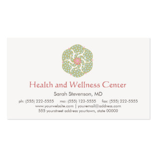 Healing Arts Health and Wellness Business Card