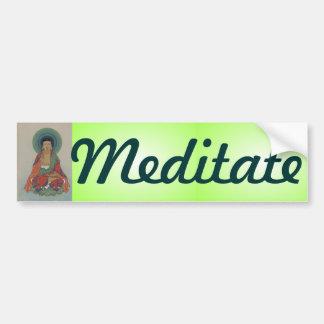 Healing Buddha Bumper Sticker