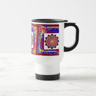 Healing CHAKRA : High Energy Art Boundryless Stainless Steel Travel Mug