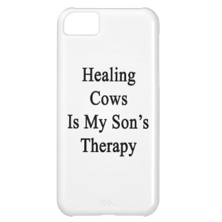 Healing Cows Is My Son s Therapy iPhone 5C Cover