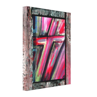 Healing Cross Gallery Wrapped Canvas