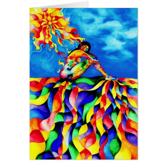 Healing Energy by Rita Loyd Card