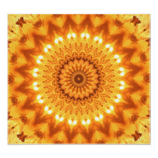 Healing Energy Mandala Canvas Print