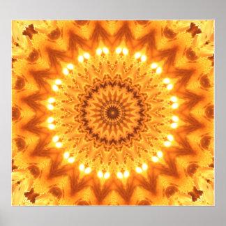 Healing Energy Mandala Canvas Print