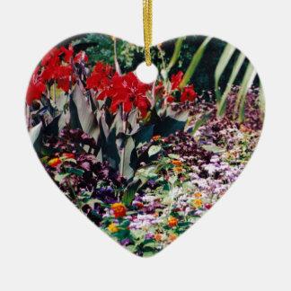 Healing Garden Ceramic Heart Decoration