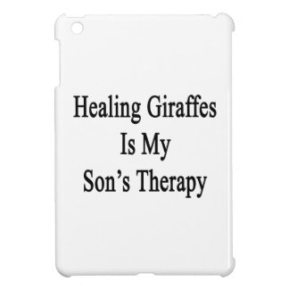 Healing Giraffes Is My Son's Therapy Cover For The iPad Mini