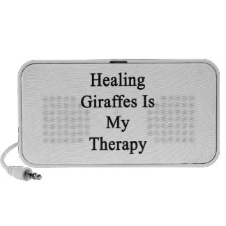 Healing Giraffes Is My Therapy Travelling Speakers