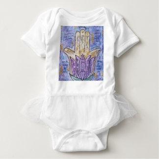 Healing Hamsa Baby Bodysuit