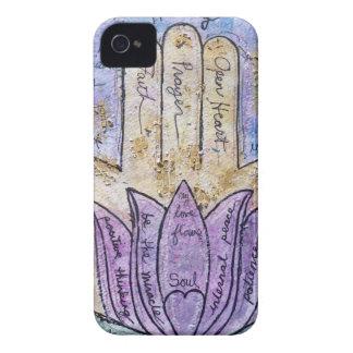 Healing Hamsa iPhone 4 Cover