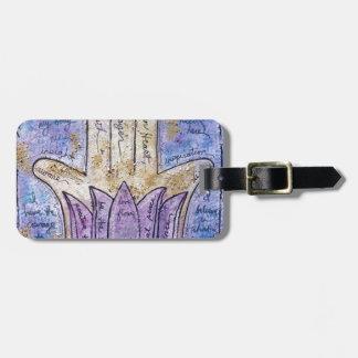 Healing Hamsa Luggage Tag