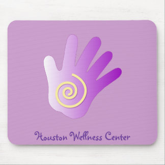 Healing Hand - Purple Mouse Pad