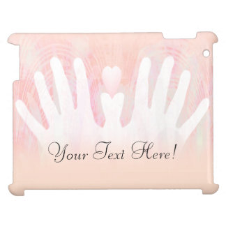 Healing Hands Pink Light Cover For The iPad 2 3 4