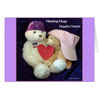 Healing Hugs Note Card