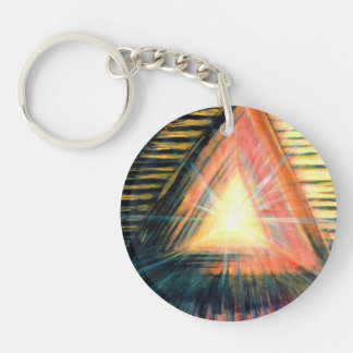 Healing Light & Healing Hands Key Ring