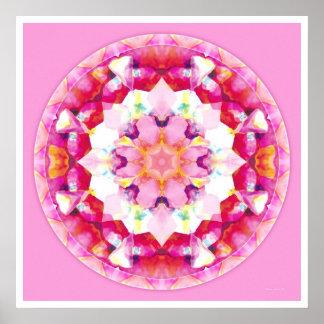 Healing Mandala 9 Poster