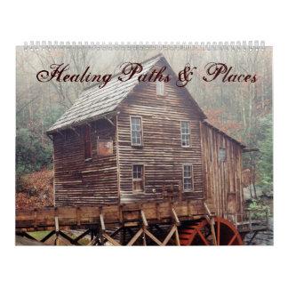 Healing Paths & Places Calendars