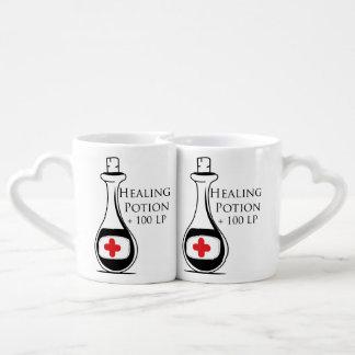 Healing Potion Coffee Mug Set