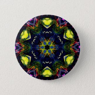 Healing Spiritual Chakra Mandala Meditation Art 6 Cm Round Badge