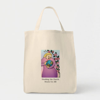 Healing the Earth Heals Us All Tote Bag