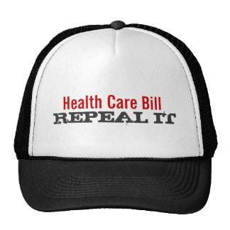 Health Care Bill  - REPEAL IT Hats