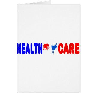 Health Care Greeting Card