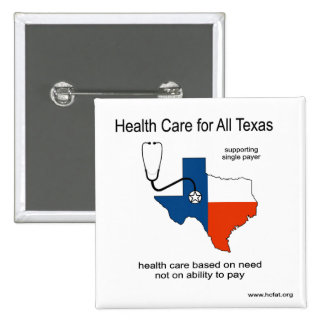 Health Care for All Texas Pin