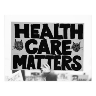 Health Care Matters Postcard