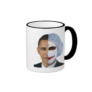 health care obama joker coffee mugs
