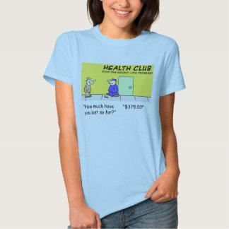 health club lost tshirt