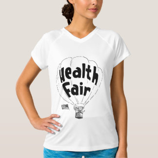 Health Fair Balloon Womens Active Tee