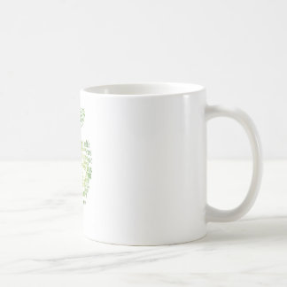 Health Green Eco Friendly Basic White Mug