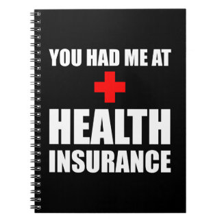 Health Insurance Spiral Notebooks
