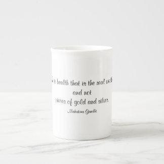 Health is Wealth Tea Cup