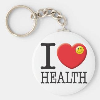 Health Love Keychain